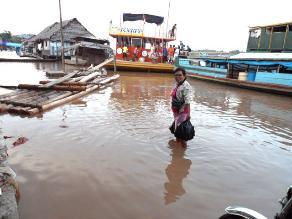 Desborde de ríos Marañón y Utcubamba deja considerables daños materiales