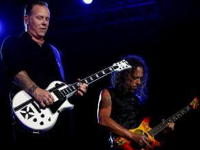 Metallica compartió video de su concierto en Perú