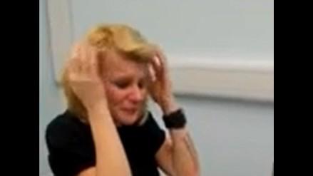 Video: emotivo instante en que sorda de nacimiento oye por primera vez