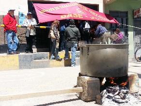 Huancayo: Más de 20 mil litigantes dejaron de ser atendidos por paro