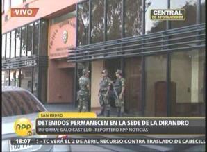 Confirman detención de 10 supuestos narcotraficantes en La Molina