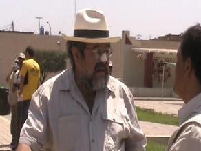 Walter Alva sufre accidente por mal estado de calles de Lambayeque