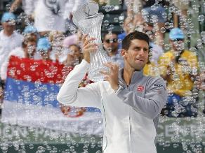 Djokovic desdibuja a Nadal y logra su cuarto título en Miami