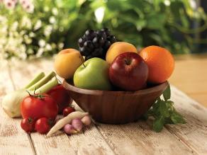 Consumo de frutas y verduras al día alarga la vida