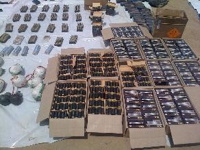 Más de 200 armas fueron incautadas en Punta Hermosa