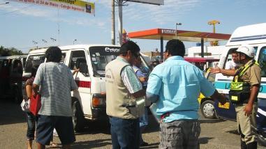 Policía de Tránsito impone más de 8 mil papeletas en Lambayeque