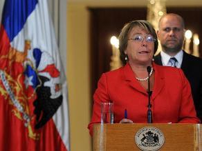 Presidenta Bachelet decreta estado de catástrofe y se confirma 6 muertos