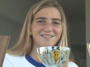 Velerista María Belen Bazo espera brillar en Juegos Olímpicos de Juventud