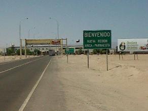 Tacna: se restablece el paso por el complejo fronterizo de Santa Rosa