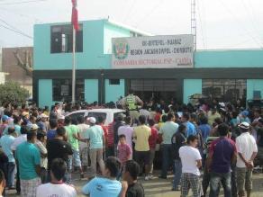 Ayacucho: pobladores de Chontabamba exigen retiro de comisaría