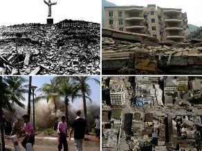 Los 10 terremotos con mayor cantidad de víctimas desde 1900
