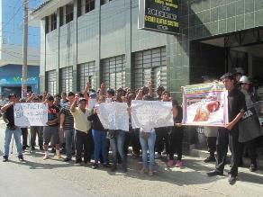 Chiclayo: piden justicia para vendedor que fue golpeado por PNP