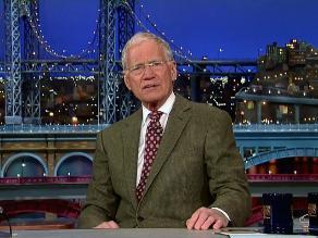 David Letterman anuncia su retiro de la televisión