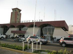 Arequipa: detienen a extranjera con 10 kilos de cocaína en aeropuerto
