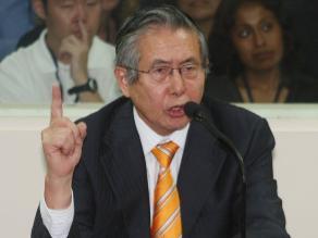 Fujimori sobre el ´5 de abril´: Enrumbó al Perú hacia el desarrollo