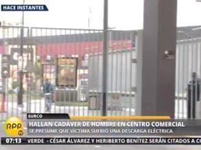 Trabajador muere por una potente descarga eléctrica en centro comercial