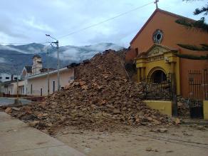 Huánuco: se desploma primera iglesia debido a la humedad
