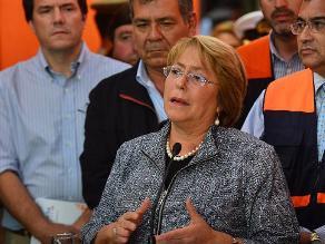Bachelet amplía vigencia de estado de catástrofe en regiones del terremoto