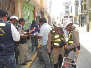 Chiclayo: intervienen vehículos que no respetan zonas rígidas