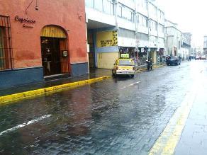 Lluvias dispersas continuarán registrándose en Arequipa
