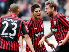 Eintracht Frankfurt con Zambrano está cada vez más lejos del descenso