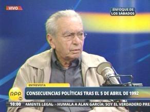 Julio Cotler: Alan García es el destructor de un país