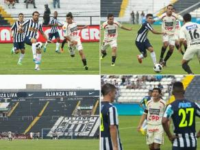 Revive el empate entre Alianza Lima y León de Huánuco en Matute