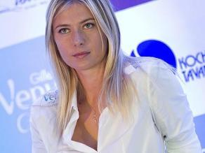 Sharapova muestra su espectacular figura en playa de Cancún