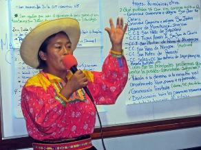 Faltan maestros quechuas en zona andina lambayecana