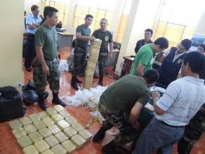 Incautan casi 58 kilos de cocaína en vía Interoceánica Madre de Dios