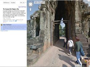 Google permite hacer una visita digital a los templos de Angkor
