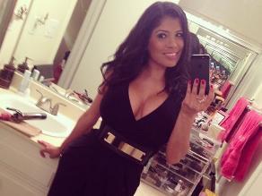 La actriz porno Alexis Amore pasa sus vacaciones en Lima