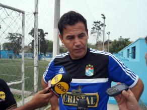 Sporting Cristal: Ahmed cree en su plantel y descarta que exista ´camita´