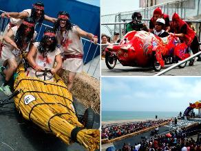 Los Carros Locos de Red Bull y toda su diversión en la Costanera de San Miguel