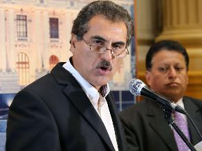 Suspenden sesión de Ética con Julio Gagó por problemas técnicos