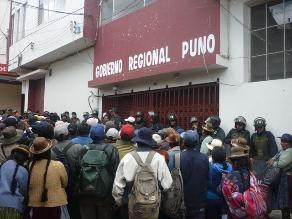 Gerente general del Gobierno Regional de Puno renunció irrevocablemente