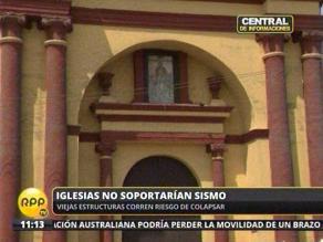 Preocupación por situación de iglesias de Lima ante terremoto