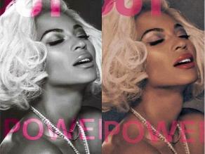 Beyoncé hizo topless en portada de revista gay
