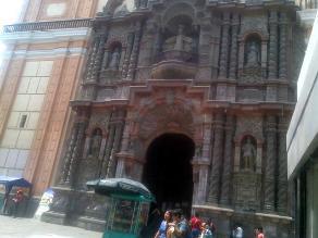 Iglesias de Lima en riesgo de colapso ante terremoto