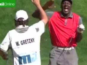 ¡Hoyo en uno! Mira el espectacular disparo de Michael Jordan en el golf