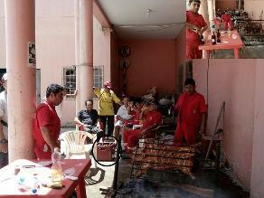 Chiclayo: bomberos son fotografiados bebiendo licor en institución