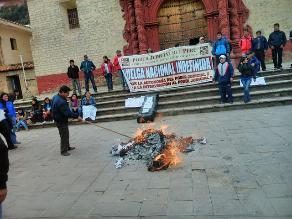 Huancavelica: trabajadores del Poder Judicial continúan en huelga