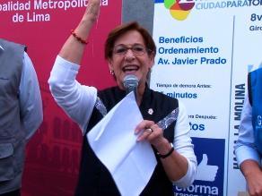 CPI: 82.4% de la población rechaza la reelección de Susana Villarán