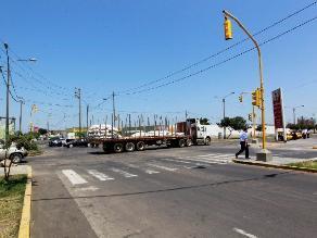 Trujillo: instalan semáforos en 4 cruces con alto índice de accidentes