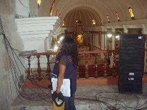 Detectan riesgo eléctrico en templo de Santo Domingo de Arequipa