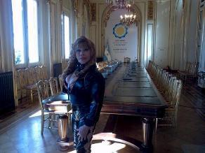 Argentina: La Tigresa del Oriente visitó la Casa Rosada