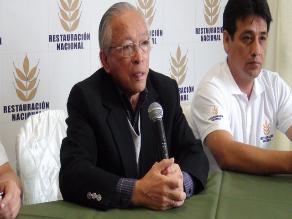Congresista Humberto Lay a favor que Unión Civil se defina por referéndum