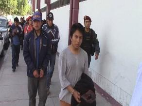Cajamarca: con un plantón exigen liberación de detenidos en Conga