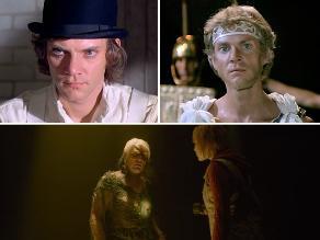 ¿En qué películas apareció Malcolm McDowell?