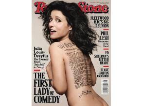 Julia Louis-Dreyfus causa asombro en portada de revista